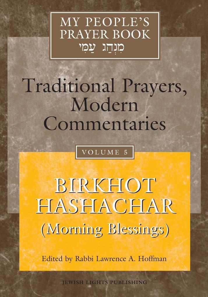 My People's Prayer Book Vol 5 als Buch