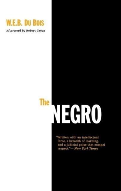 The Negro als Taschenbuch