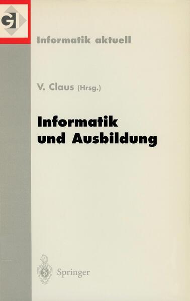 Informatik und Ausbildung als Buch von