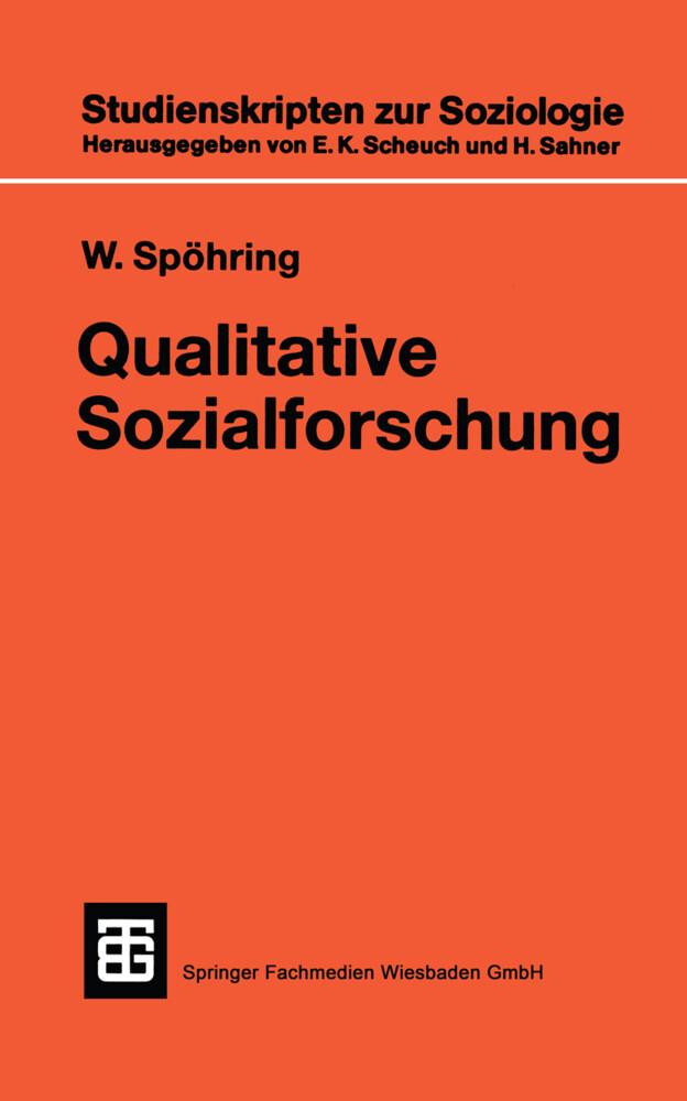 Qualitative Sozialforschung als Buch (kartoniert)