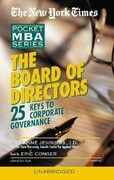 The Board of Directors: 25 Keys to Corporate Governance