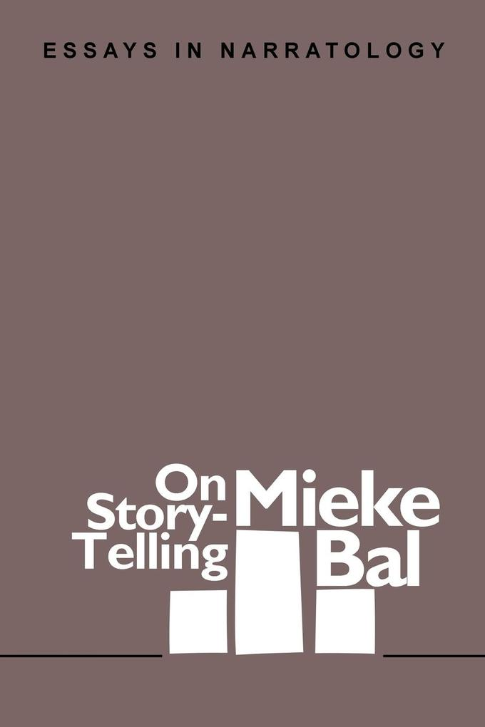 On Story-Telling als Taschenbuch