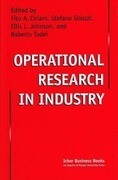 Operational Research in Industry