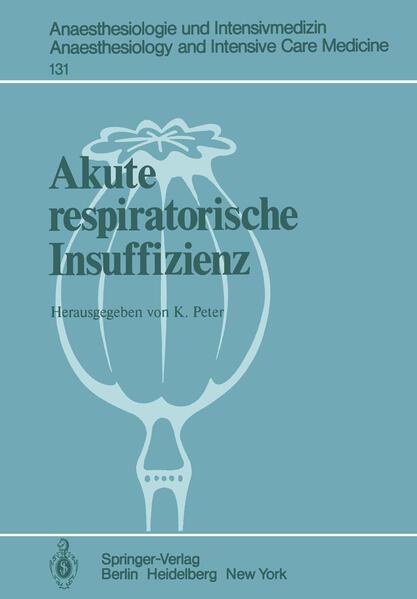 Akute respiratorische Insuffizienz als Buch von