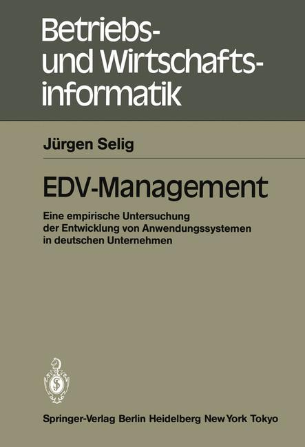 EDV-Management als Buch von Jürgen Selig