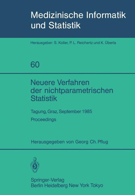 Neuere Verfahren der nichtparametrischen Statis...