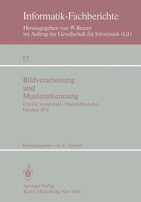 Bildverarbeitung und Mustererkennung als Buch von