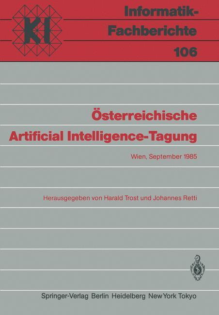 Österreichische Artificial Intelligence-Tagung ...