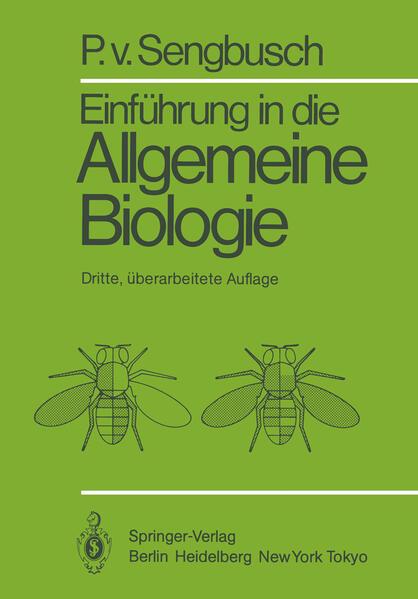 Einführung in die Allgemeine Biologie als Buch ...