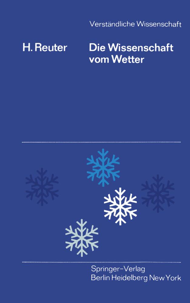 Die Wissenschaft Vom Wetter Buch Heinz Reuter