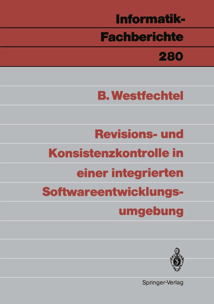 Revisions- und Konsistenzkontrolle in einer int...