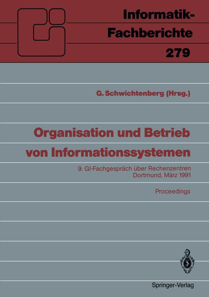 Organisation und Betrieb von Informationssystem...