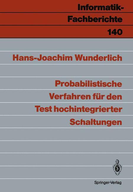 Probabilistische Verfahren für den Test hochint...