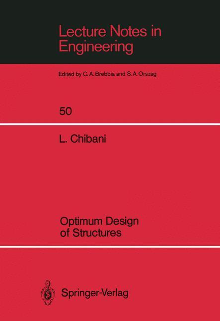Optimum Design of Structures als Buch von Lahbi...