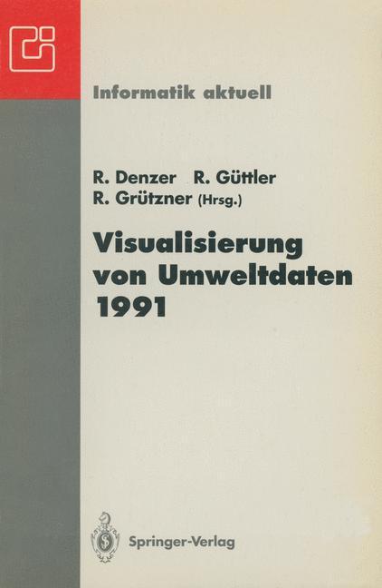 Visualisierung von Umweltdaten 1991 als Buch von
