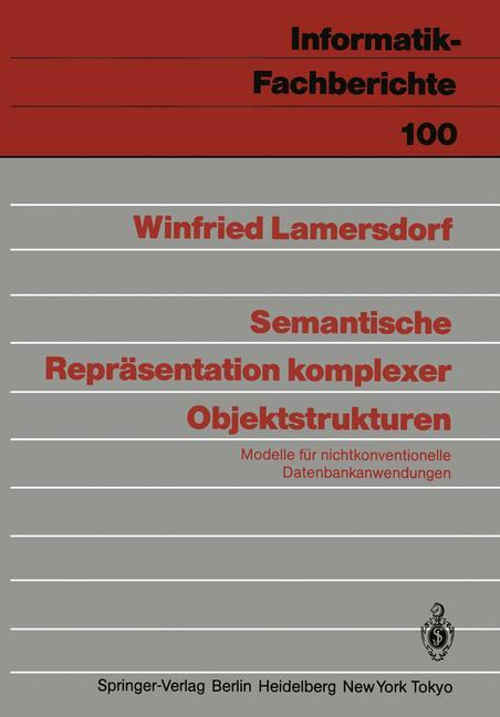 Semantische Repräsentation komplexer Objektstru...