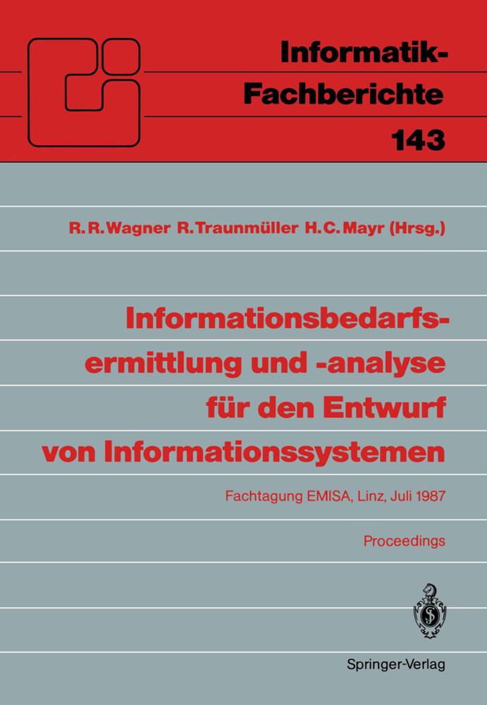 Informationsbedarfsermittlung und -analyse für ...