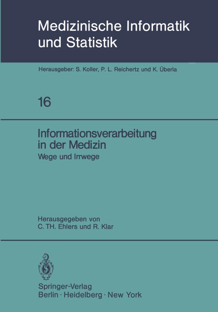 Informationsverarbeitung in der Medizin als Buc...