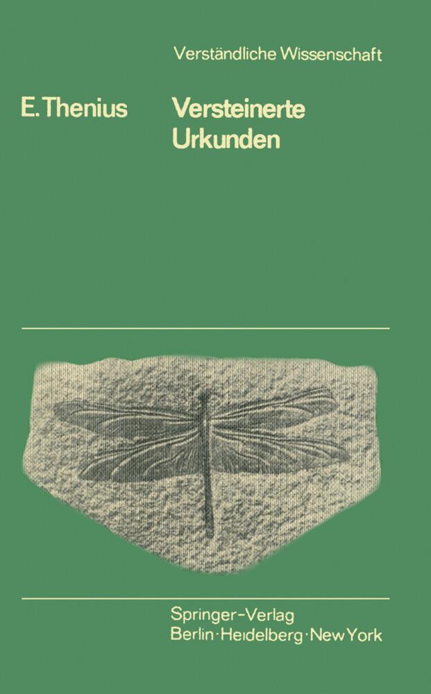 Versteinerte Urkunden als Buch von E. Thenius, ...