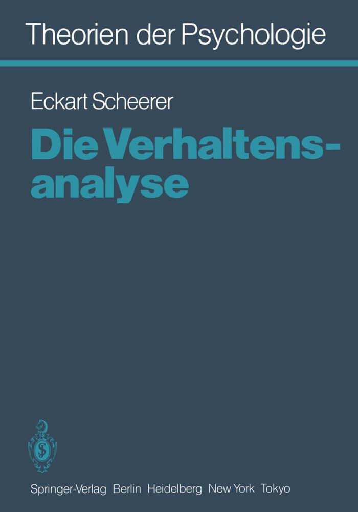 Theorien der Psychologie als Buch von E. Scheer...