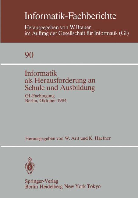 Informatik als Herausforderung an Schule und Au...