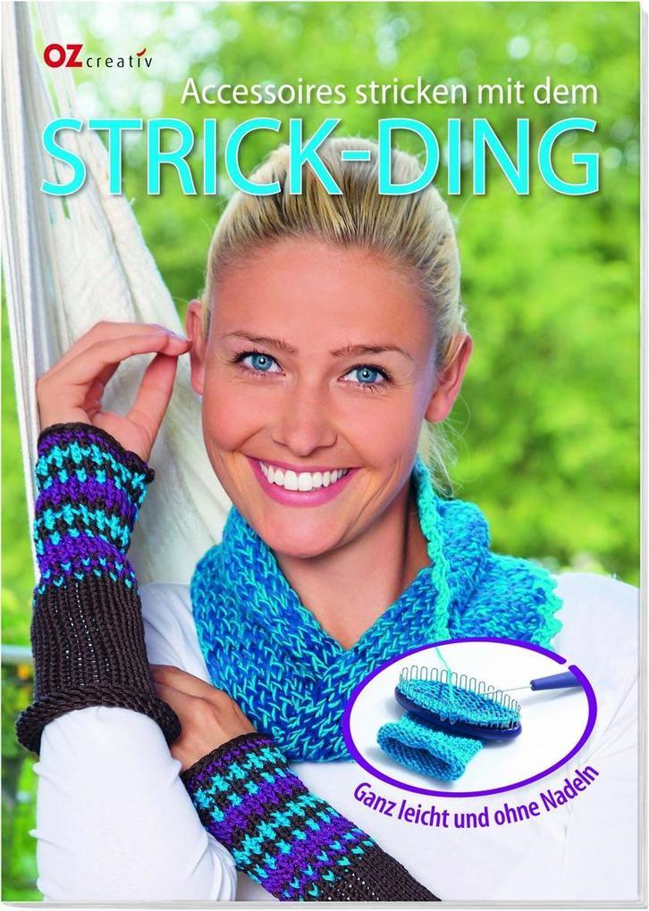 Accessoires stricken mit dem Strick-Ding als Bu...