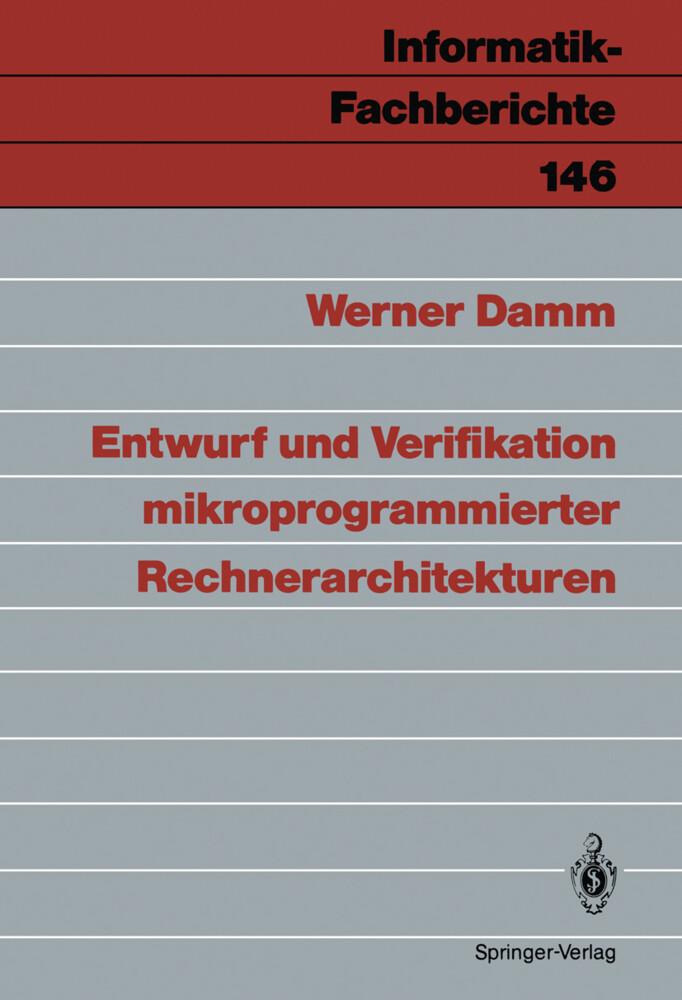 Entwurf und Verifikation mikroprogrammierter Re...