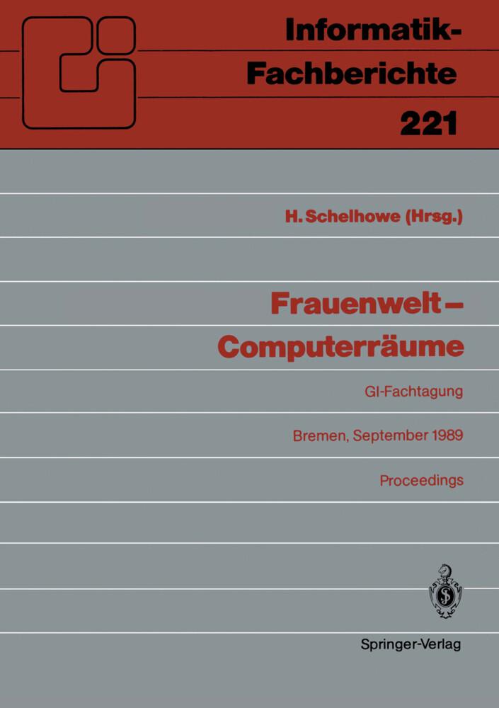 Frauenwelt - Computerräume als Buch von
