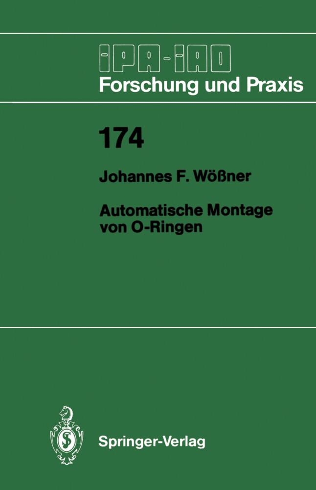 Automatische Montage von O-Ringen als Buch von ...