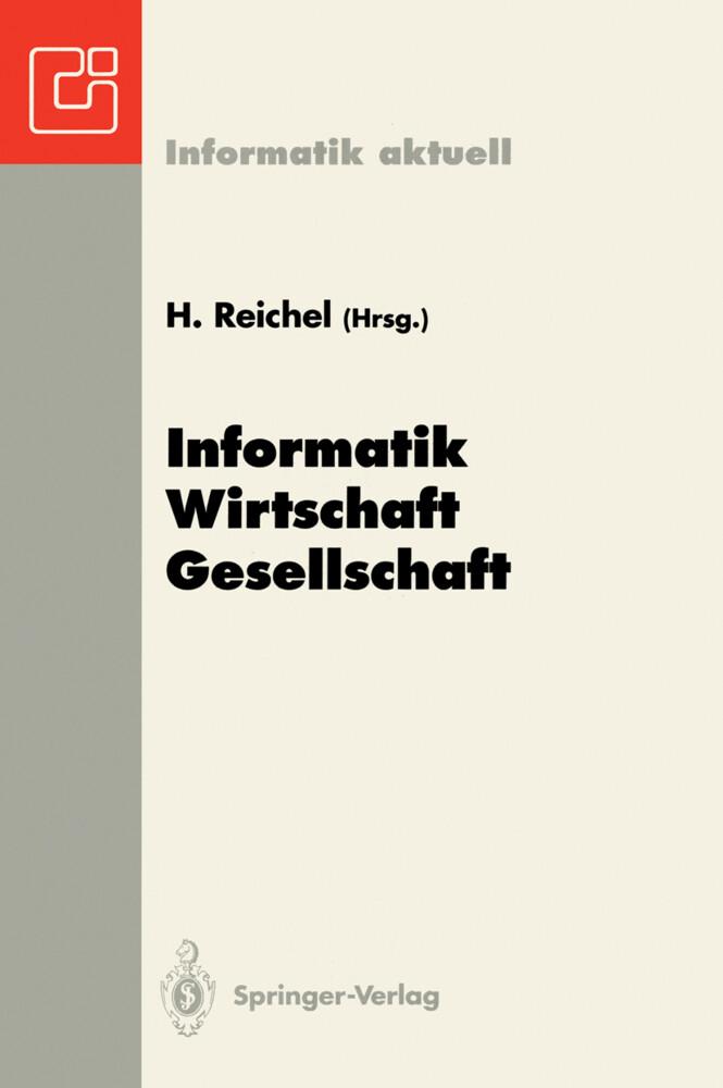 Informatik - Wirtschaft - Gesellschaft als Buch...
