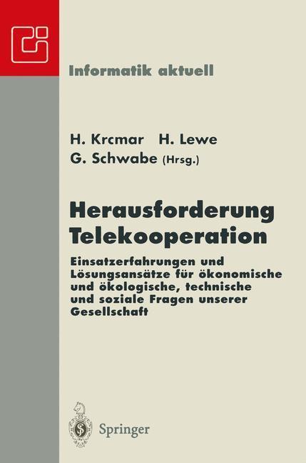 Herausforderung Telekooperation als Buch von