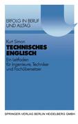 Technisches Englisch