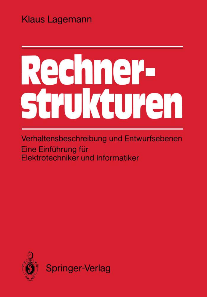 Rechnerstrukturen als Buch von Klaus Lagemann