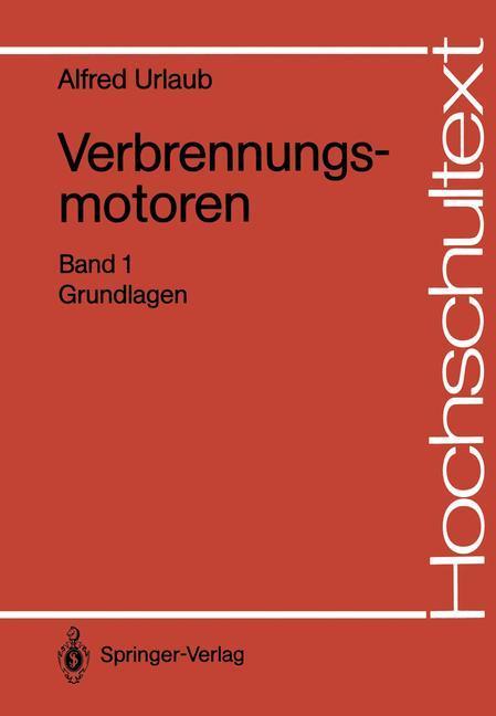 Verbrennungsmotoren als Buch von Alfred Urlaub