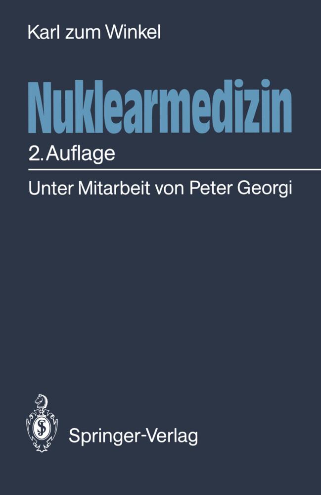 Nuklearmedizin als Buch von Karl Zum Winkel, Pe...
