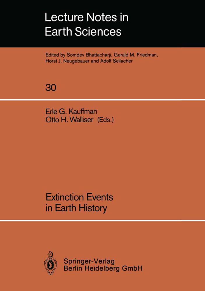 Extinction Events in Earth History als Buch von