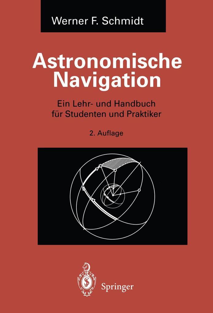 Astronomische Navigation als Buch (kartoniert)