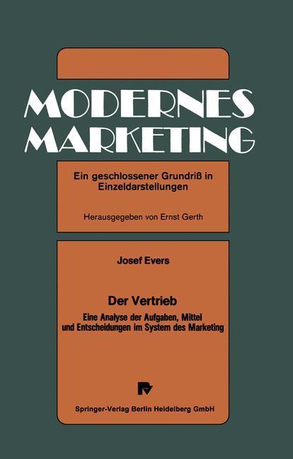 Der Vertrieb als Buch von J. Evers