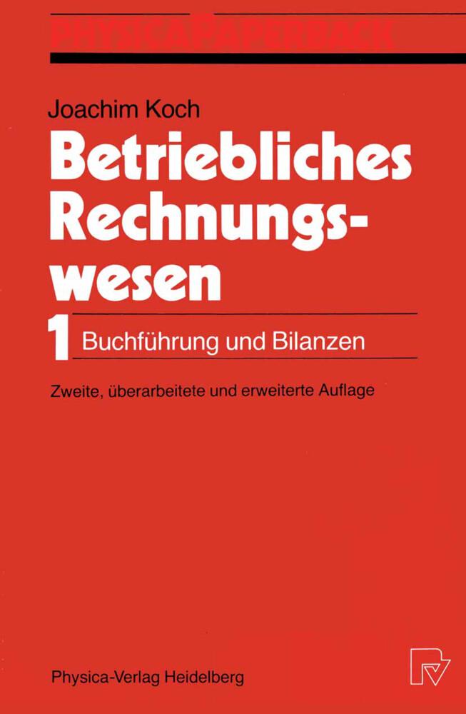 Betriebliches Rechnungswesen Buch Joachim Koch