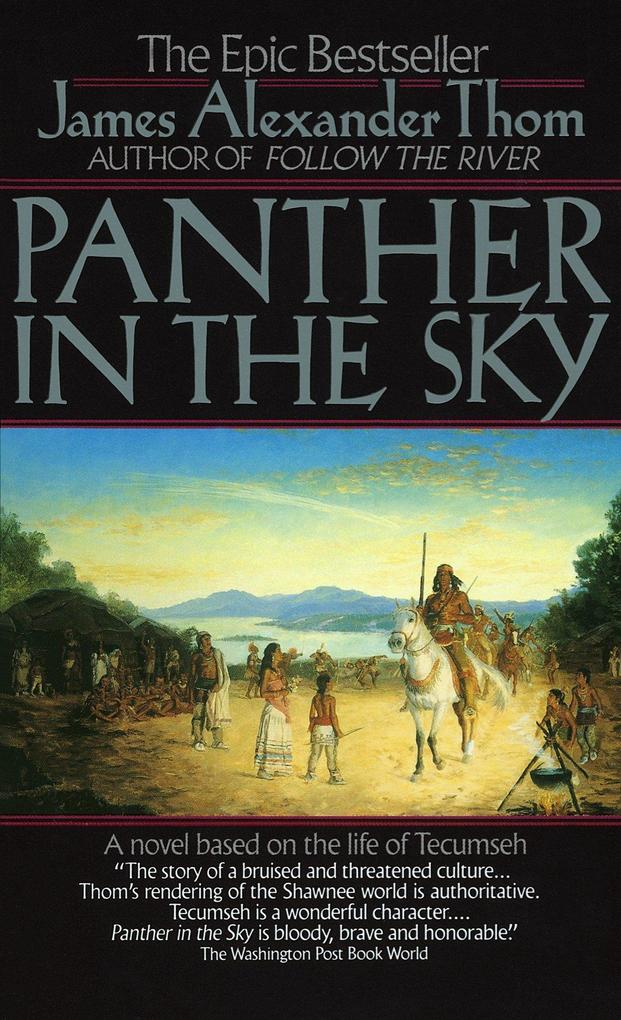 Panther in the Sky: A Novel Based on the Life of Tecumseh als Taschenbuch