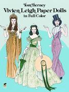 Vivien Leigh Paper Dolls in Full Color