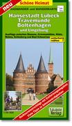 Hansestadt Lübeck, Travemünde, Boltenhagen und Umgebung Radwander- und Wanderkarte 1 : 50 000