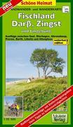 Fischland, Darß, Zingst und Umgebung Radwander- und Wanderkarte 1 : 35 000