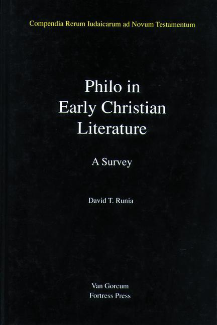 Philo in Early Christian Literature als Buch