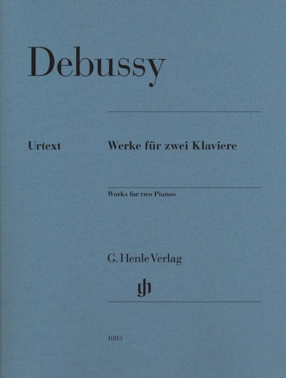 Werke für zwei Klaviere als Buch von Claude Deb...
