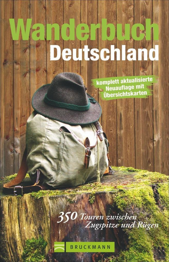 Wanderbuch Deutschland als Buch von Michael Prö...