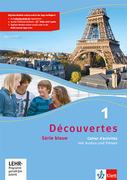 Découvertes Série bleue 1. Cahier d'activités mit MP3-CD und Video-DVD. ab Klasse 7