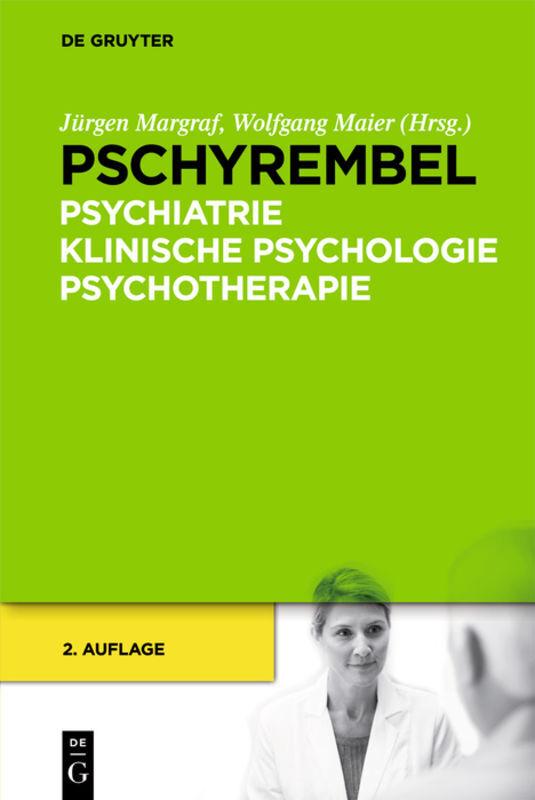 Pschyrembel Psychiatrie, Klinische Psychologie, Psychotherapie als Buch