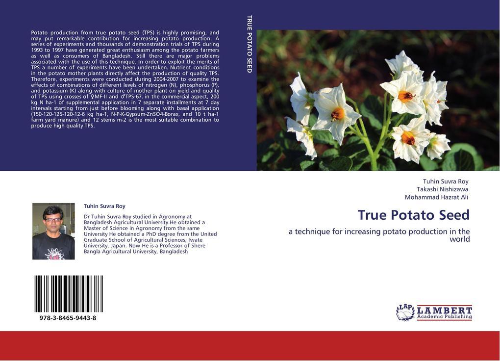 True Potato Seed als Buch von Tuhin Suvra Roy, ...