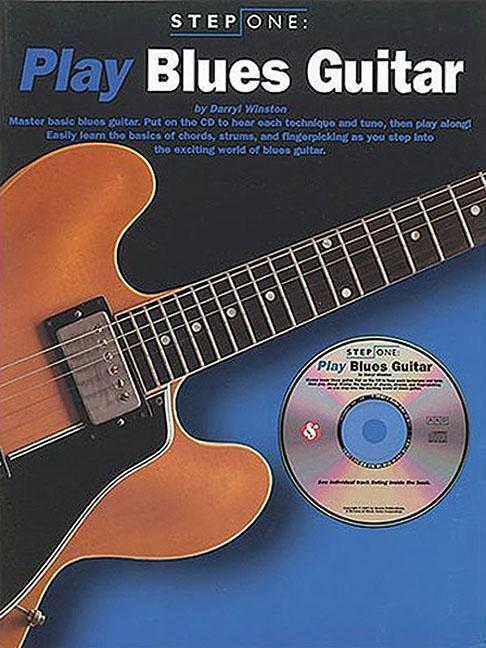 Step One: Play Blues Guitar [With CD (Audio)] als Taschenbuch